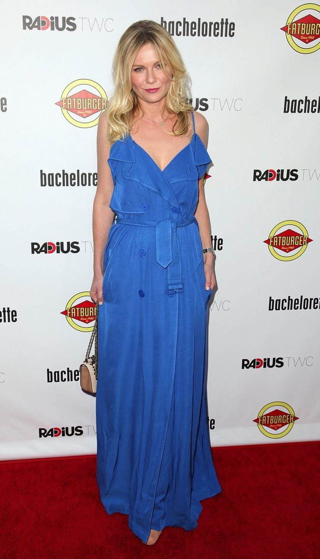 Kirsten Dunst Los Angeles premiere of Bachelorette