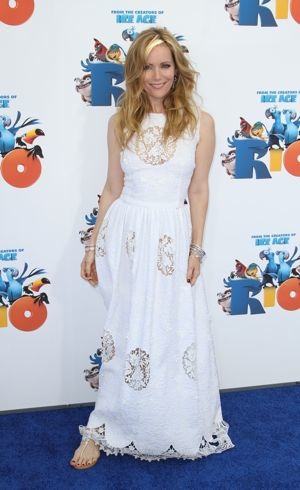 Leslie Mann Los Angeles premiere of Rio April 2011
