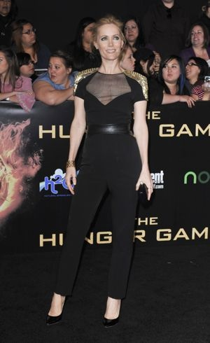 Leslie Mann World Premiere of The Hunger Games Los Angeles March 2012