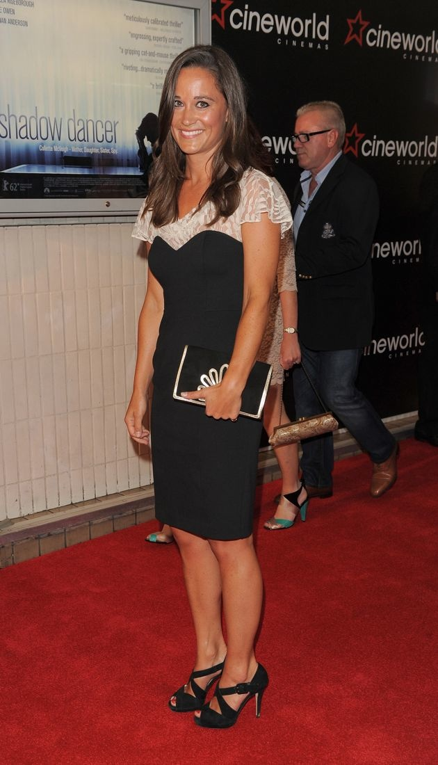 Pippa Middleton premiere of Shadow Dancer London