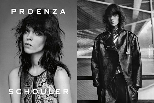 Proenza Schouler Fall 2012 - Meghan Collison by Alasdair McLellan