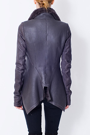 forum buys - Rick Owens shearling jacket