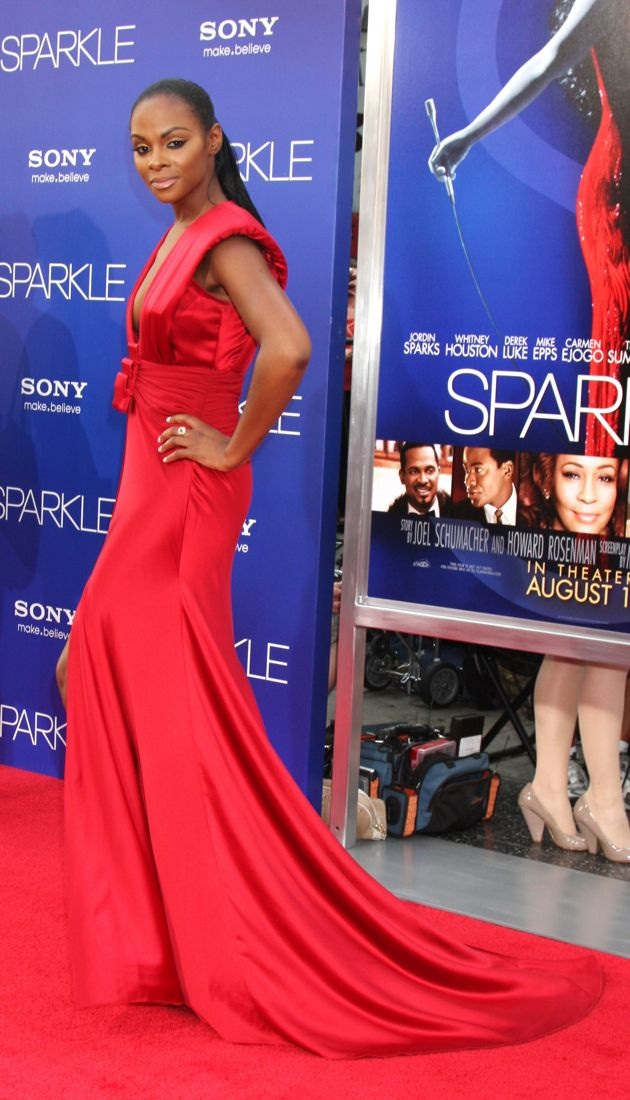 Tika Sumpter Los Angeles Premiere of Sparkle