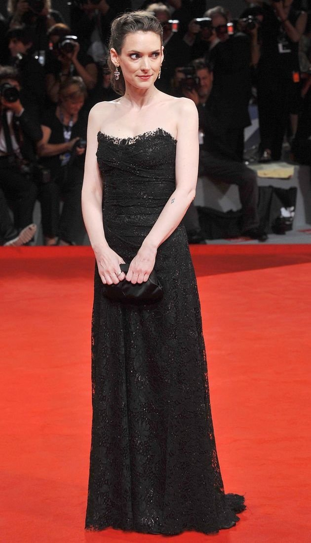 Winona Ryder 69th Venice Film Festival The Iceman Premiere