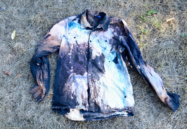 Diy How To Make A Christopher Kane Inspired Galaxy Shirt