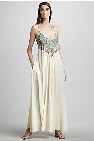 forum buys - Mara Hoffman maxi dress