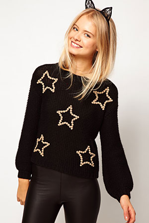 ASOS 3D star sweater - forum buys