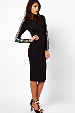 ASOS black dress - forum buys