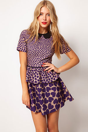 ASOS purple heart dress - forum buys