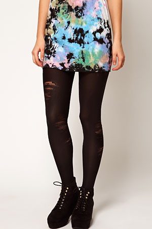 ASOS ripped look tights - forum buys