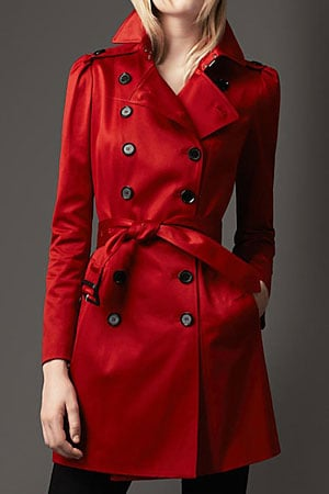 Burberry red trench - forum buys