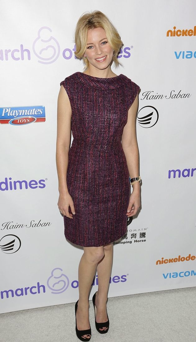 Elizabeth Banks March of Dimes celebration of babies luncheon Beverly Hills