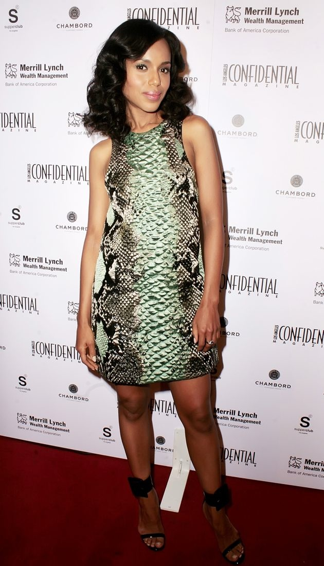 Kerry Washington Los Angeles Confidential Magazine 10th anniversary celebration Los Angeles
