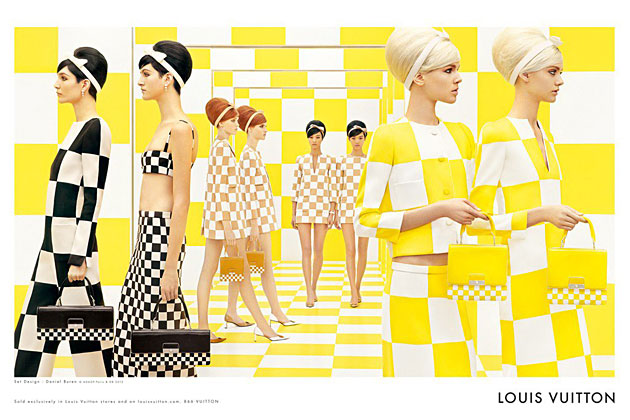 Louis Vuitton Spring 2013 ad campaign photographed by Steven Meisel