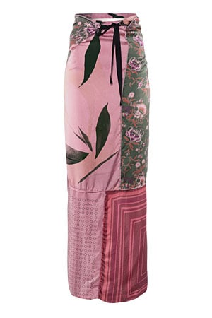 MMM x H&M patchwork maxi skirt - forum buys