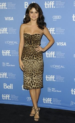 Selena Gomez Spring Breakers photocall 2012 Toronto International Film Festival Sept 2012