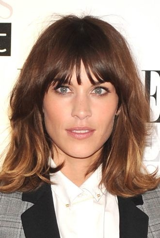 Alexa Chung ELLE Style Awards London cropped