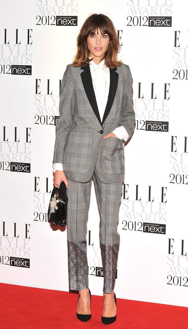 Alexa Chung ELLE Style Awards London