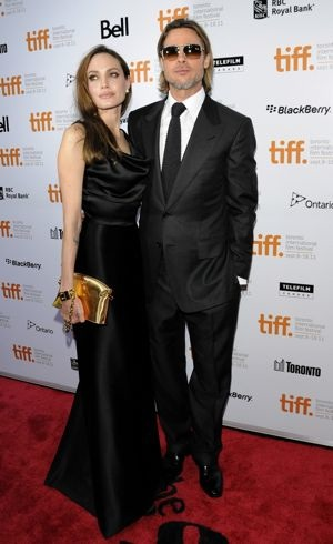 Angelina Jolie and Brad Pitt 36th Annual Toronto International Film Festival Moneyball Premiere Sept 2011