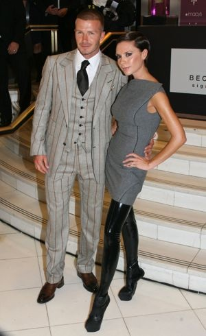 David_Victoria and David Beckham launch Beckham Signature Fragrance Collection New York City Sept 2008