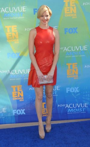 Elizabeth Banks 2011 Teen Choice Awards Universal City Aug 2011