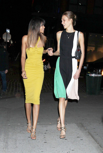 Karlie Kloss Chanel Iman