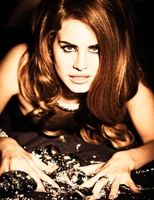 Lana Del Rey by Ellen Von Unwerth for Lovecat Spring 2012