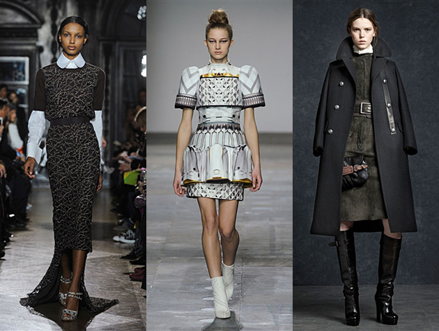 London Fashion Week fall 2012 Hits - Giles, Mary Katrantzou, Belstaff