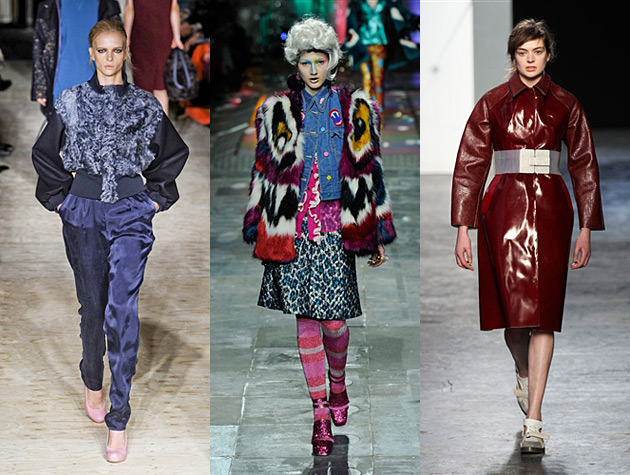 London Fashion Week fall 2012 Misses - Roksanda Ilincic, Meadham Kirchhoff, Acne
