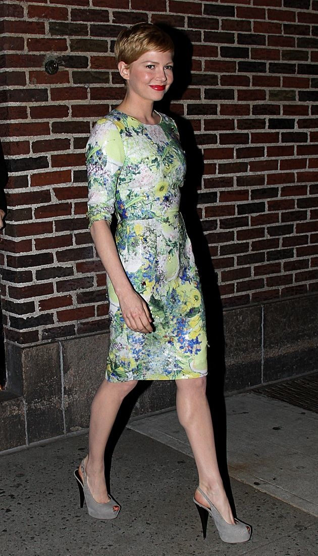Michelle Williams The Late Show with David Letterman New York City