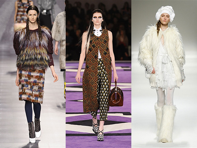 Milan Fashion Week Fall 2012 Misses - Fendi, Prada, Blugirl