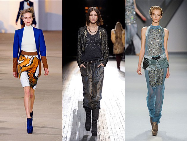 NYFW Fall 2012 Hits - Preen, Theyskens' Theory, Vera Wang