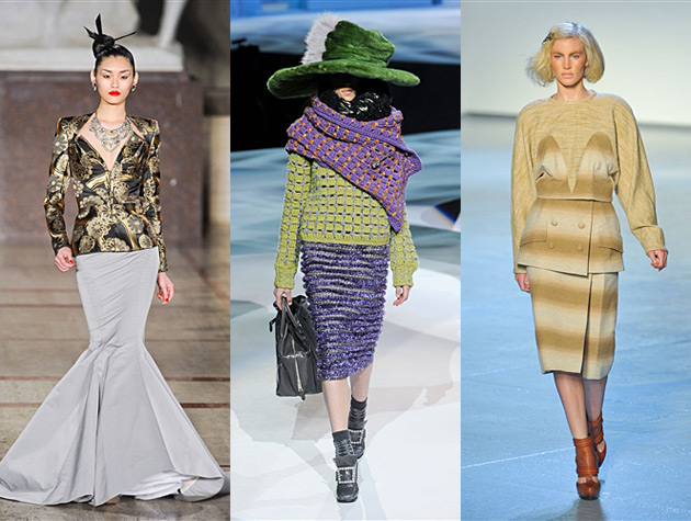 NYFW Fall 2012 Misses - Zac Posen, Marc Jacobs, Rodarte