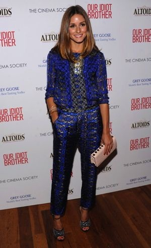 Olivia Palermo My Idiot Brother Screening NYC Aug 2011
