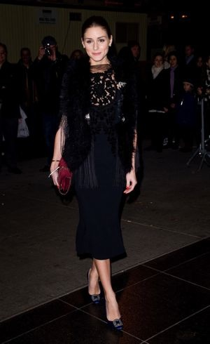 Olivia Palermo The Cinema Society and Piaget screening of WE New York City Dec 2011