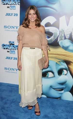 Olivia Palermo The Smurfs world premiere New York City July 2011
