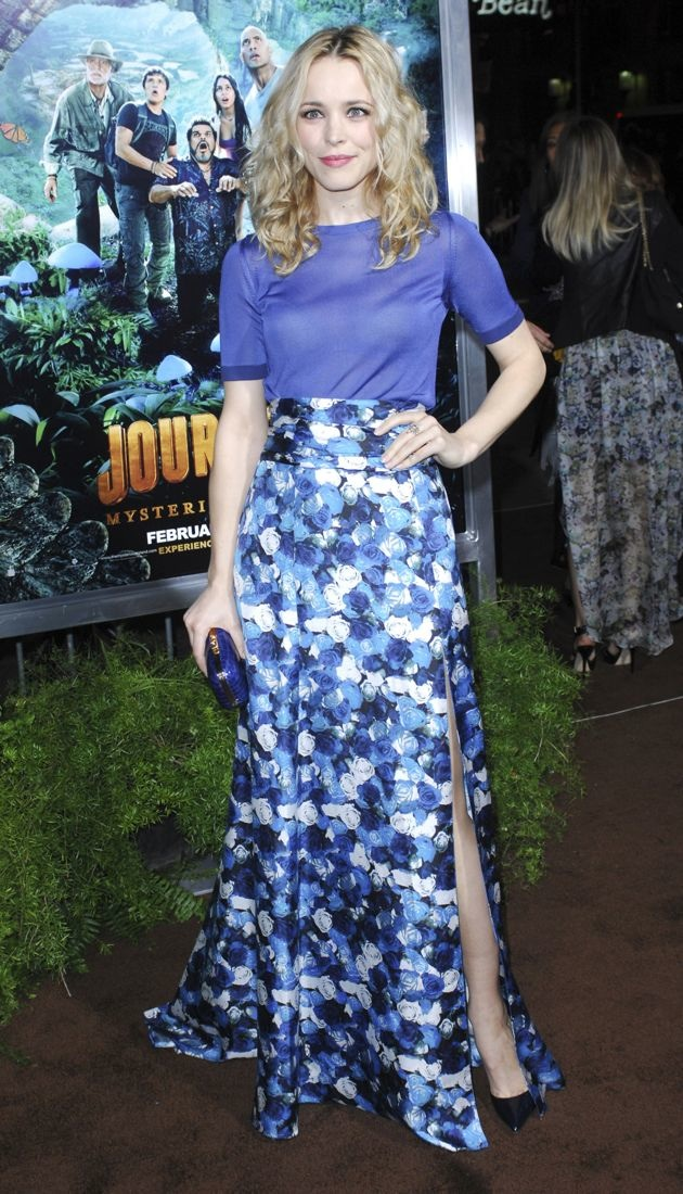 Rachel McAdams Los Angeles Premiere Journey 2 The Mysterious Island