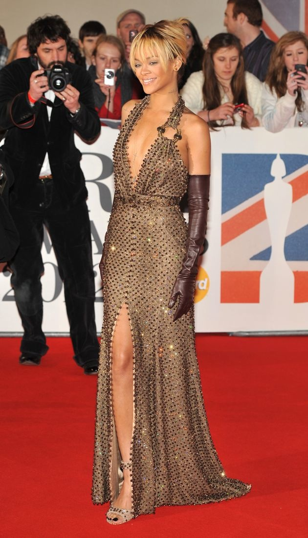 Rihanna 2012 Brit Awards London