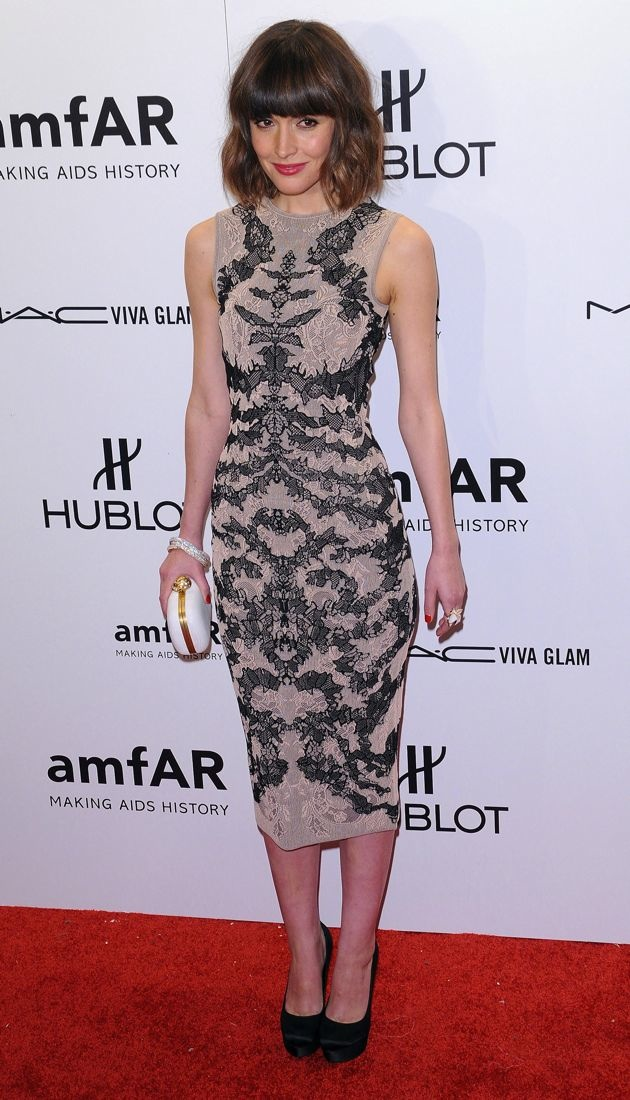 Rose Byrne 2012 amfAR New York Gala