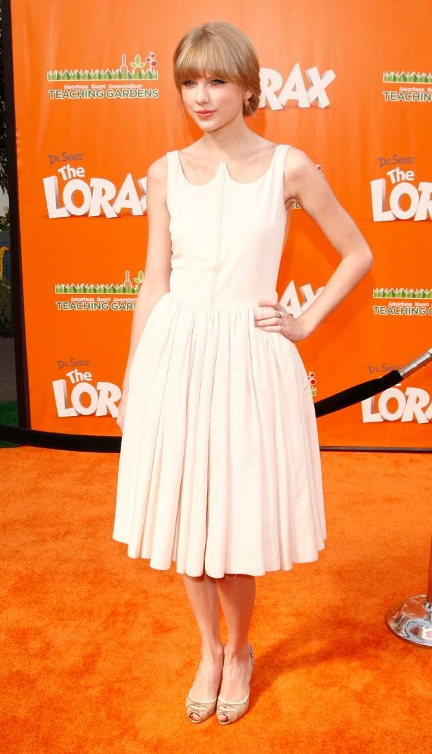 Taylor Swift Premiere of The Lorax Los Angeles