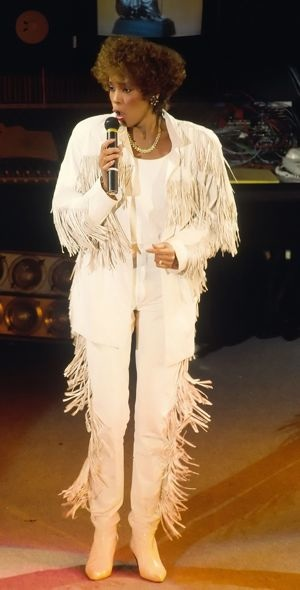 Whitney Houston 1989 BPI Awards London Feb 1989