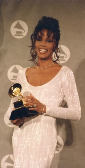 Whitney Houston Grammy Awards Los Angeles 1994