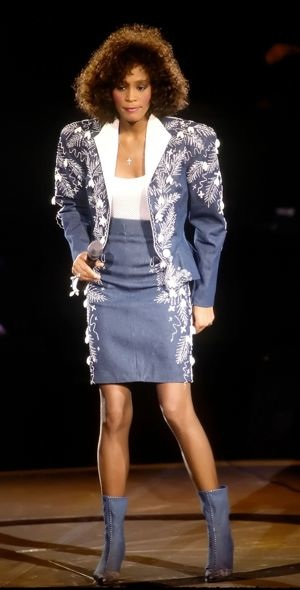 Whitney Houston The Moment of Truth Tour London May 1988