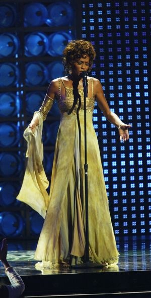 Whitney Houston World Music Awards Sept 2004