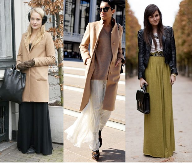 e8c91ea2d0 Wear Your Maxi Skirt in the Cold - theFashionSpot