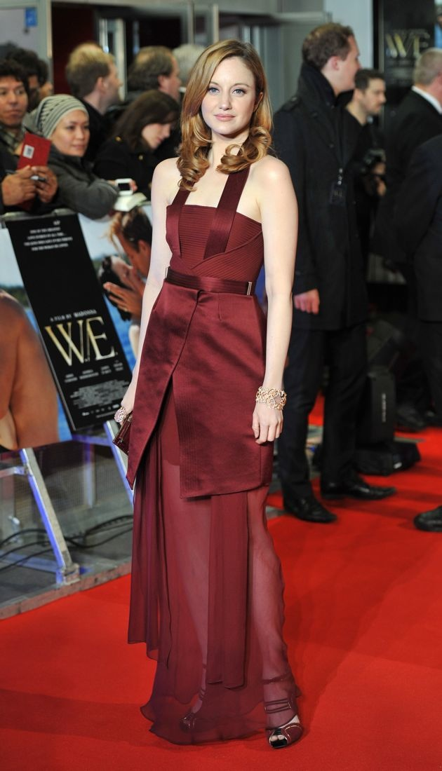Andrea Riseborough UK Premiere of W.E.at the Odeon Kensington London