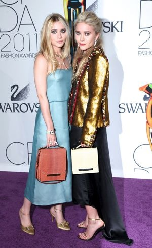 Ashley Olsen and Mary-Kate Olsen 2011 CFDA Fashion Awards New York City June 2011
