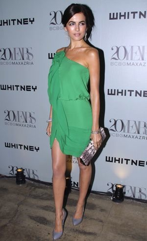 Camilla Belle 2009 Whitney Contemporaries Art Party and Auction New York City June 2009