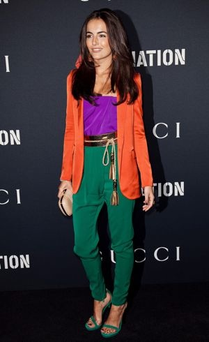 Camilla Belle Gucci RocNation Pre-GRAMMY Brunch West Hollywood Feb 2011