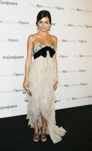 Camilla Belle The Metropolitan Opera Premiere of Armida New York City April 2010
